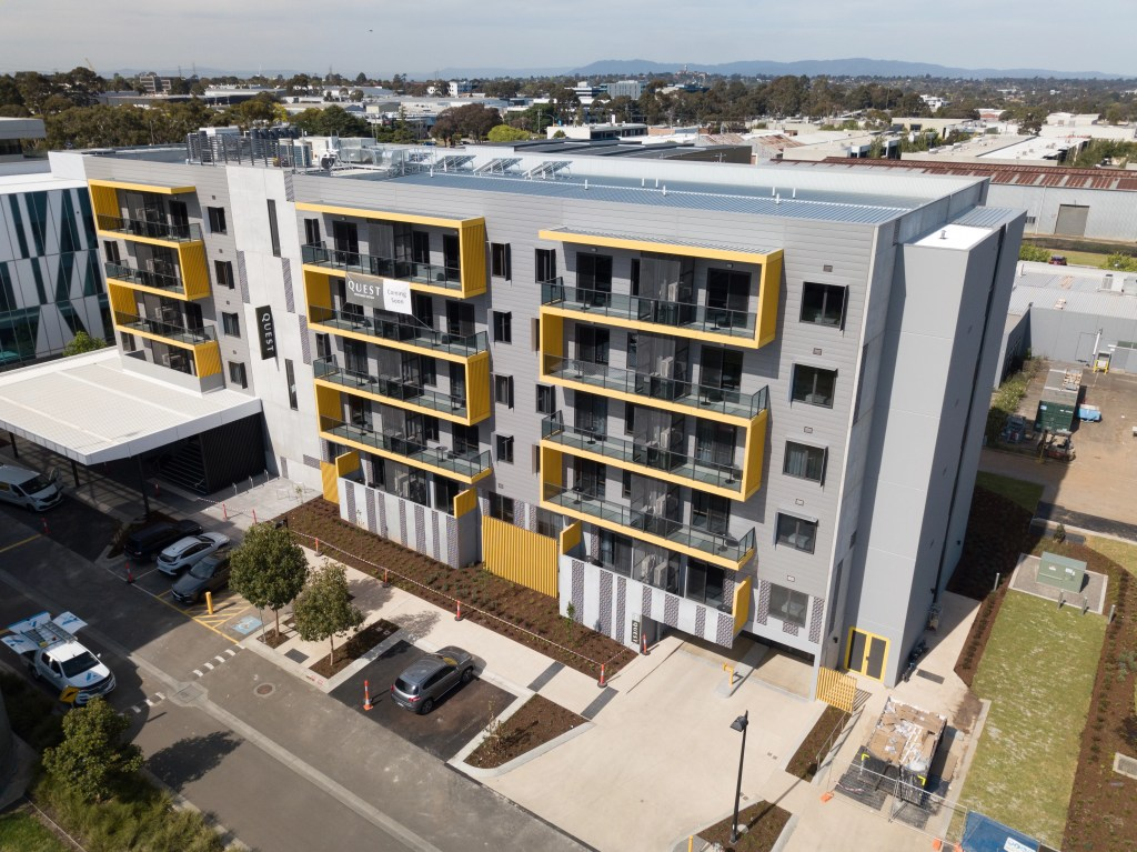 QUEST Acacia Pl Notting Hill 01 1024x767 - QUEST receives an exceptional facade with COLORBOND® steel