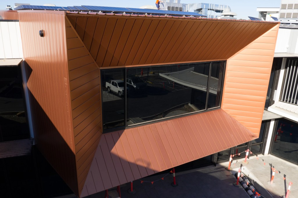 PICAC 01 - PICAC Impresses With COLORBOND® steel Interlocking Panels
