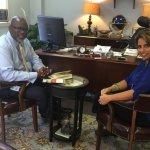 Meeting with Crandall O. Jones, Norristown Municipal Administrator