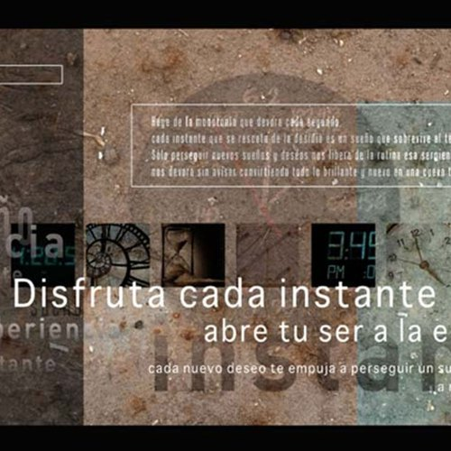 Diseño del Cartel Time para proyecto personal