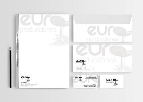 Identidad corporativa para Europroducciones