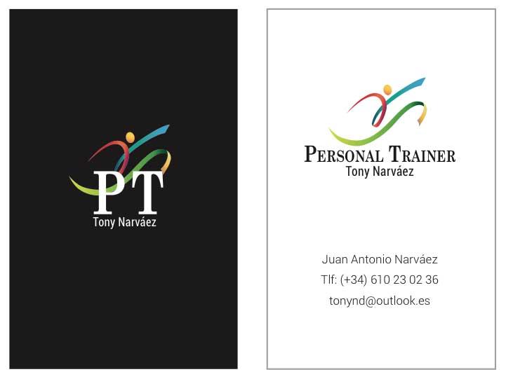 Identidad de marca Personal Trainer portafolio diseño klerr