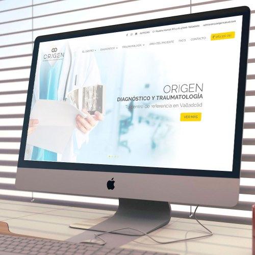 Web Corporativa de Traumatología, Origen