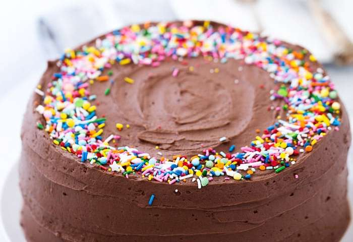 Classic Yellow Cake With Chocolate Frosting A Classic Twist