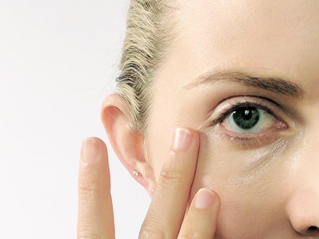 Household uses for coconut oil - under eye cream
