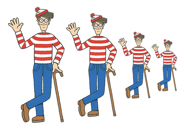 Sustainable thrift store Halloween costume ideas - Where's Waldo