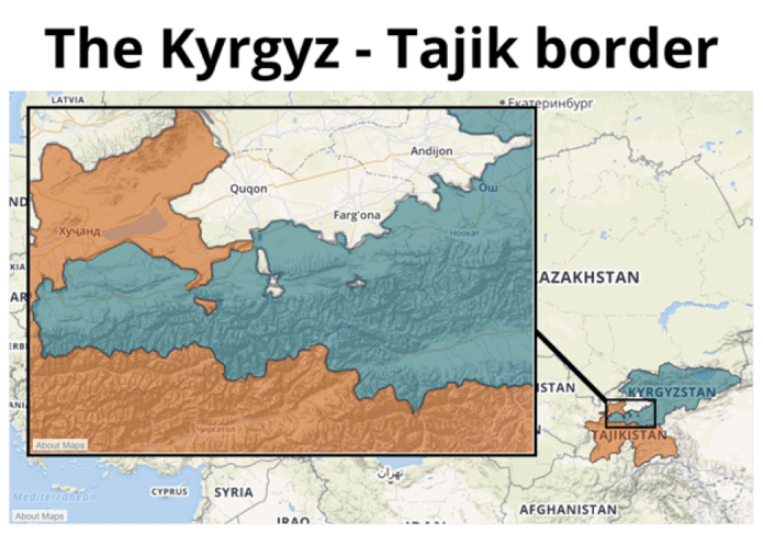 Everlasting or Ever-Changing? Violence Along the Kyrgyzstan-Tajikistan  Border   ACLED