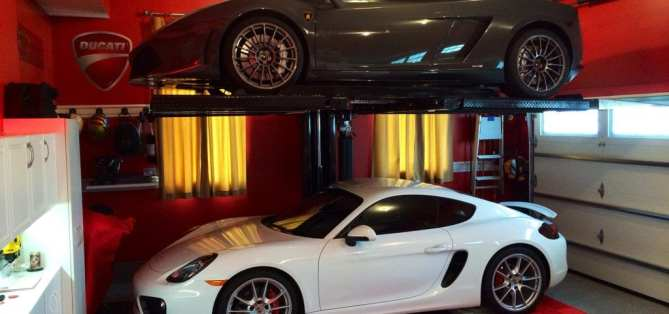 custom garage lifts