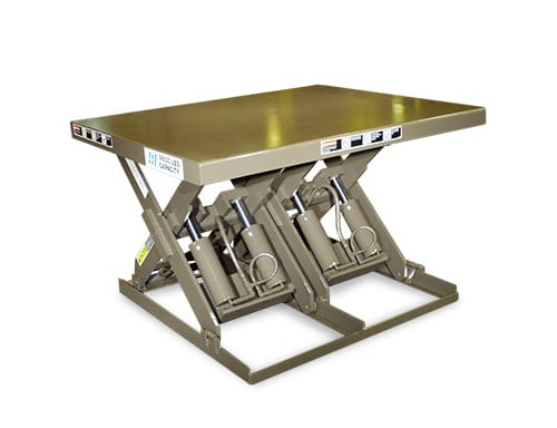 Series 35 Double Wide Scissor Lift Table