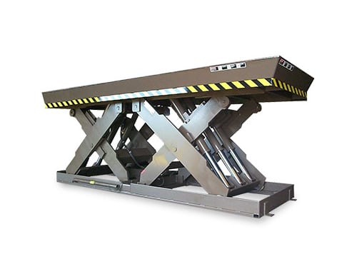 Super Titan Double Long Scissor Lift Table