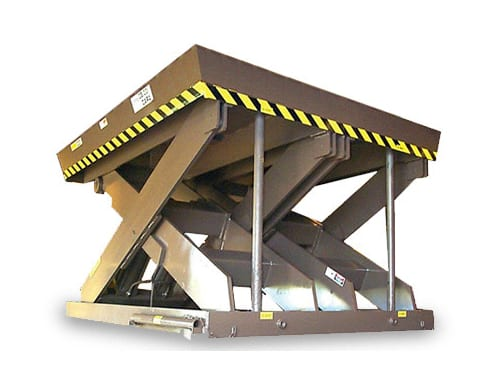 Super Titan Double Wide Scissor Lift Table