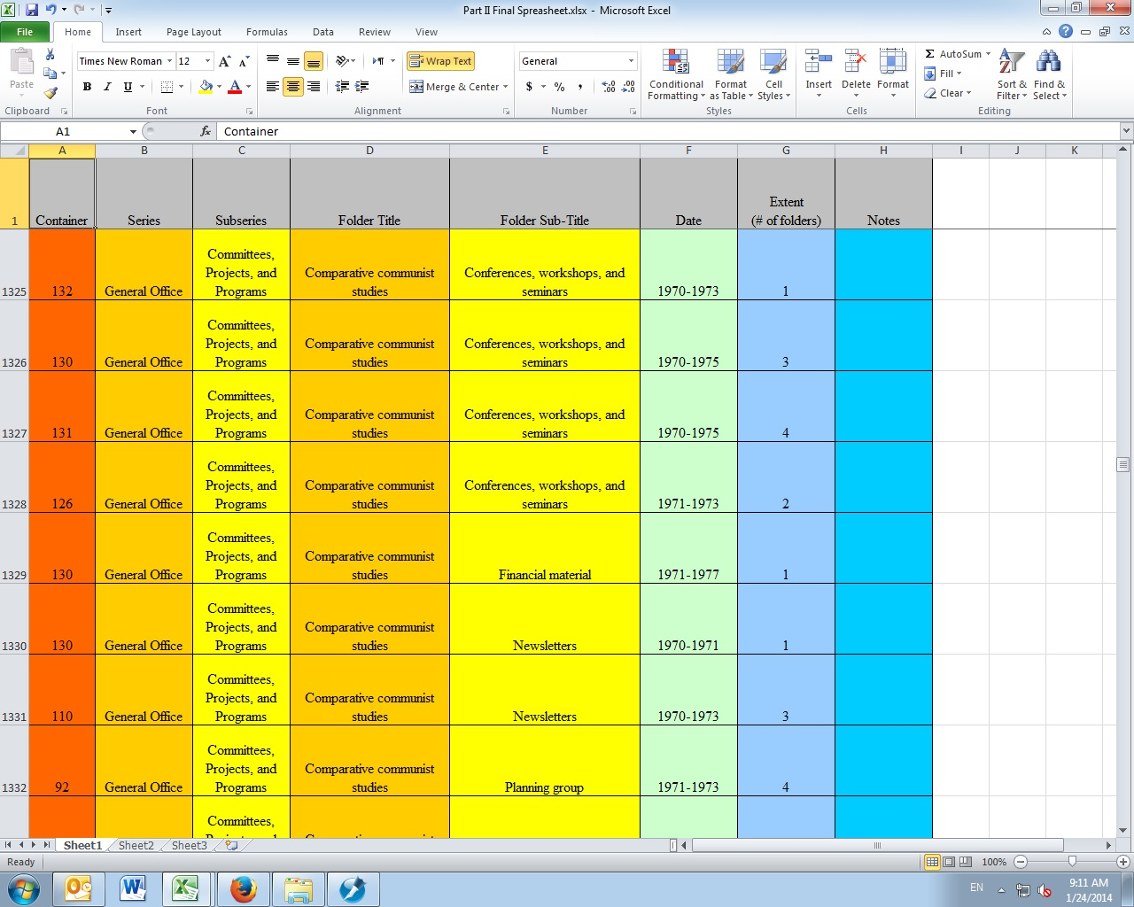 Converting Spreadsheets To Word Documents A Walkthrough