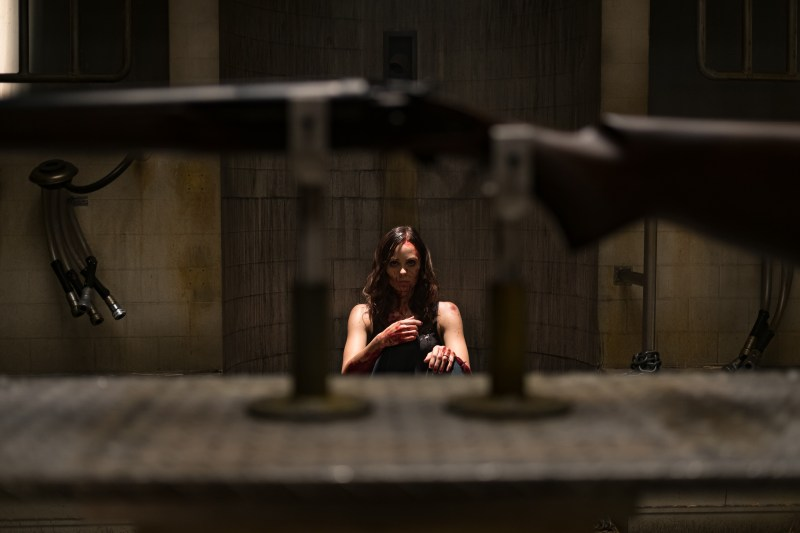 Laura Vandervoort as Anna in 'Jigsaw' - DOP Ben Nott ACS, PHOTO Supplied