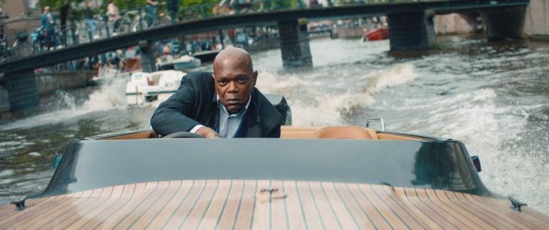 Samuel L. Jackson in 'The Hitman's Bodyguard' - DOP Jules O'Loughlin ACS