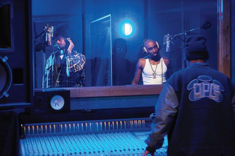 Tupac (Demetrius Shipp Jr), Daz (Azad Arnaud) and Snoop Dogg (Jarrett Ellis) in 'All Eyez on Me' - DOP Peter Menzies Jr.jpg