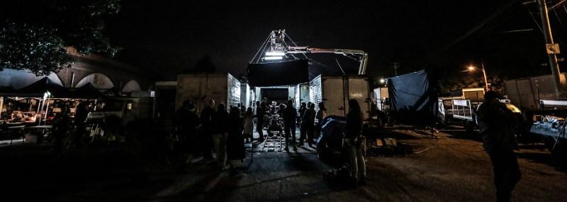 1. Behind the Scenes on 'Skinford' - PHOTO Dan Berghofer