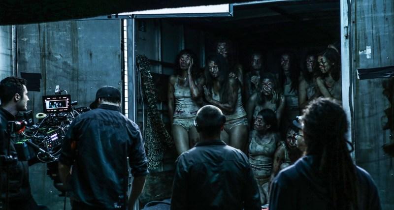 7. Behind the Scenes on 'Skinford' - PHOTO Dan Berghofer