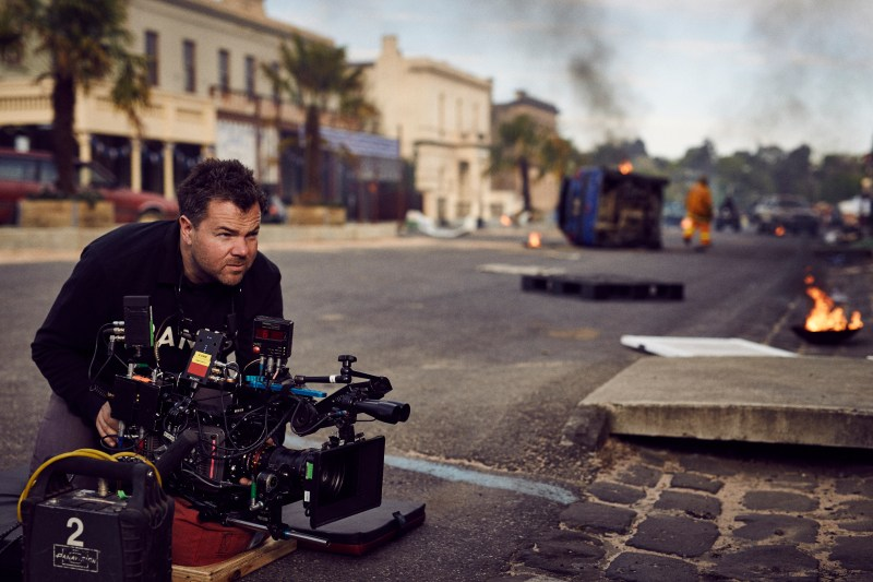 Simon Ozolins ACS on location filming 'Tomorrow When The War Began' - PHOTO Ambience Entertainment