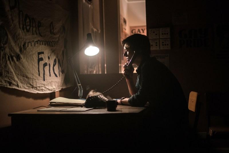 Xavier Samuel (Jim) in 'Riot' - DOP Martin McGrath ACS, PHOTO Mark Rogers