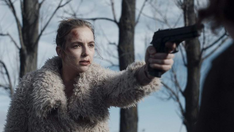 A scene from an episode of 'Killing Eve' - DOP Julian Court