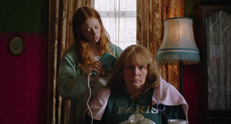 Iona (Lily Newmark) and Lyn (Joanna Scanlan) in 'Pin Cushion' - DOP Nicola Daley ACS