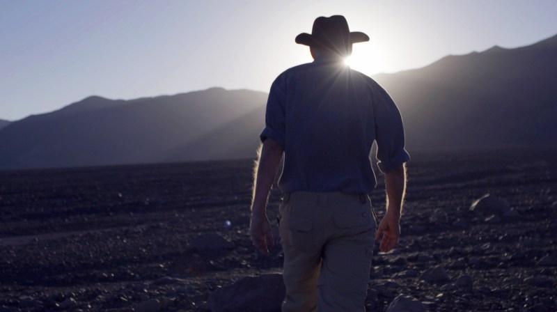 Steve Squyres, Professor of Physical Sciences at NASA, at Chile's Atacama Desert in 'Living Universe' - DOP Frank Flick ACS