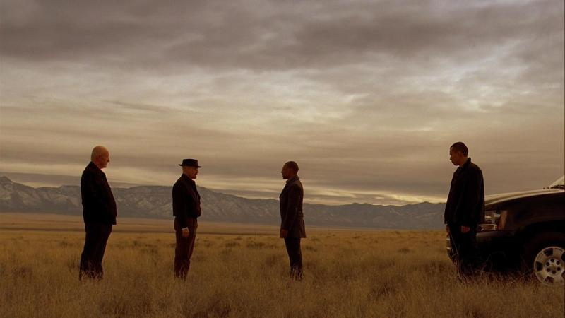 A scene from the television series 'Breaking Bad' - DO) Michael Slovis