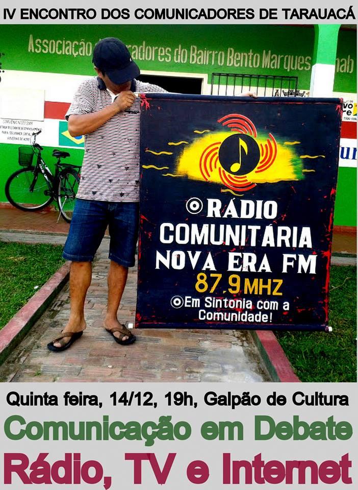 IV Encontro dos comunicadores de Tarauacá acontece nesta quinta-feira
