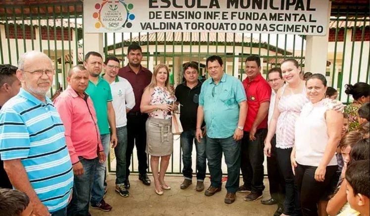 TARAUACÁ: Prefeitura entrega novas instalações da escola Valdina Torquato