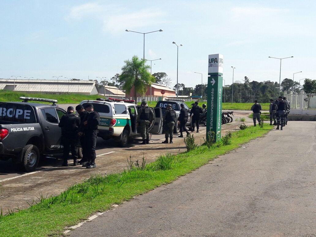 """RIO BRANCO: Polícia Militar realiza operação """"Força e Ordem"""" na Cidade do Povo"""