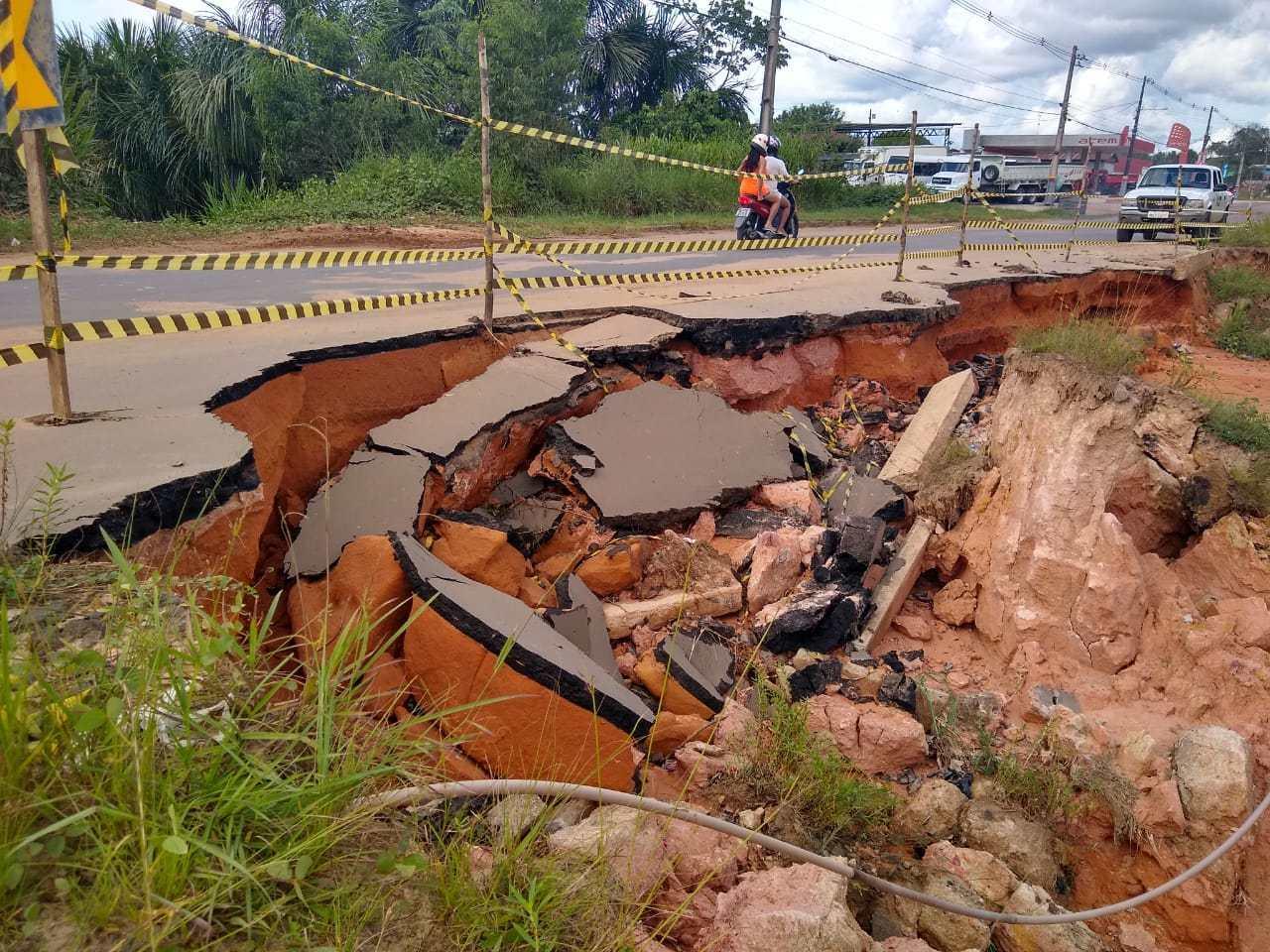 Deracre vai interditar trecho da Estrada do Aeroporto de Cruzeiro do Sul por dez dias