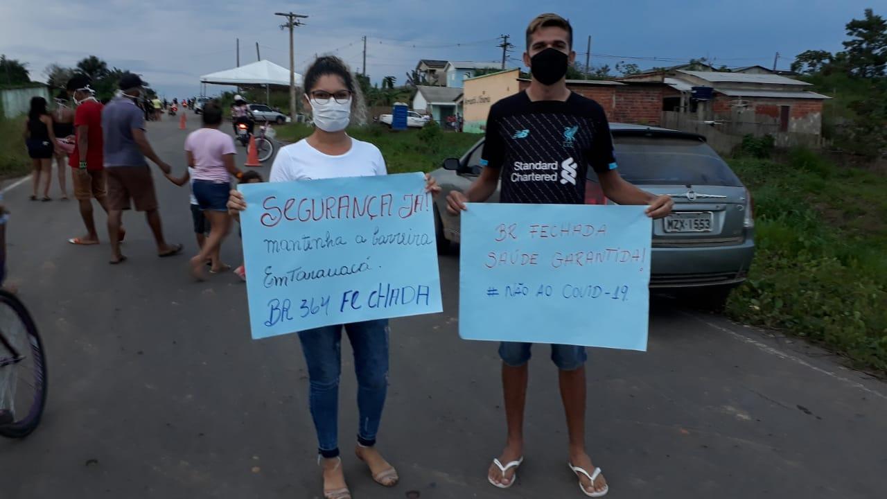 Protesto em Tarauacá contra juíza federal 22 (6)