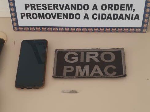 8° BPM recupera celular que havia sido roubado