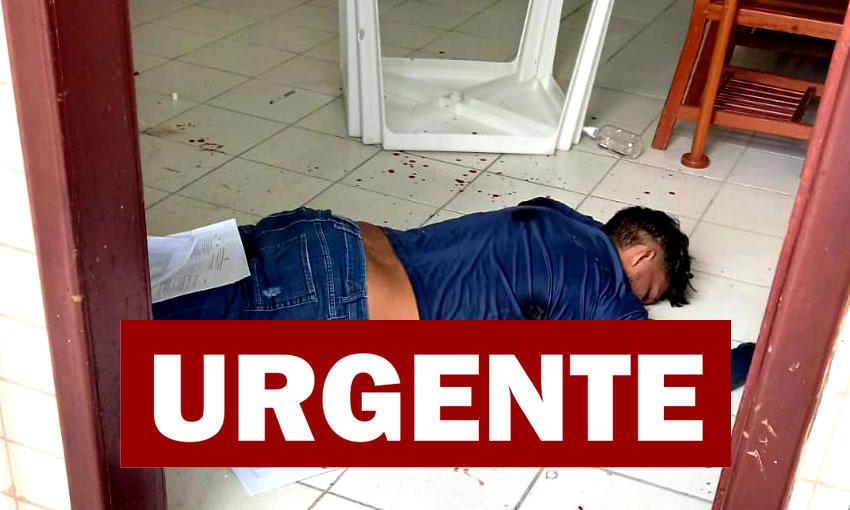 Bandido é morto e dois funcionários ficam feridos durante tentativa de assalto em escola de Rio Branco