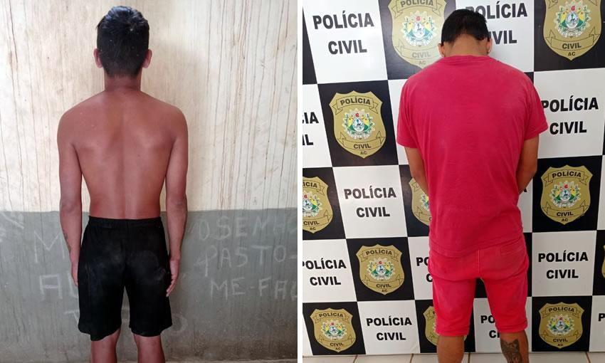 Dupla é presa por trafico e participação em organização criminosa em Porto Walter