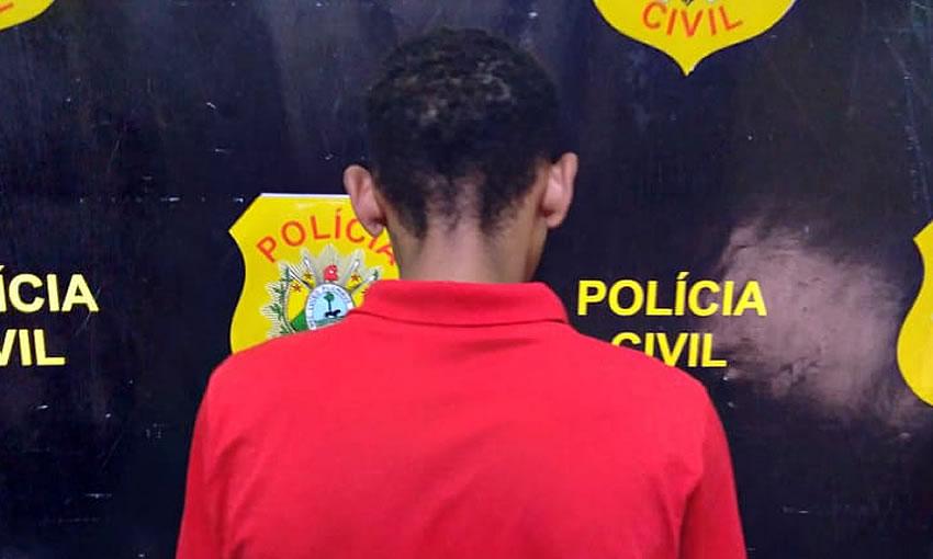"""""""Lagartixa"""" é preso em Mâncio Lima acusado de matar adolescente grávida de 8 meses"""
