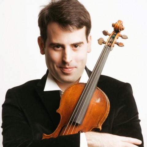 Amaury Coeytaux, violín