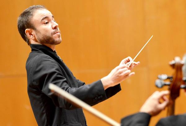 Diego García Rodríguez con la Sinfónica de Galicia