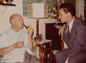 Yoav Talmi con Pau Casals en Puerto Rico en 1967