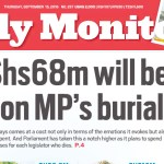 Media reports on lavish cars and funerals anger Ugandan MPs