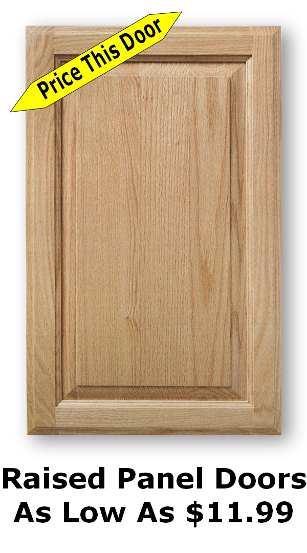 Unfinished Shaker Cabinet Doors As Low As 899