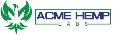 Acme Hemp Labs Logo with Phoenix