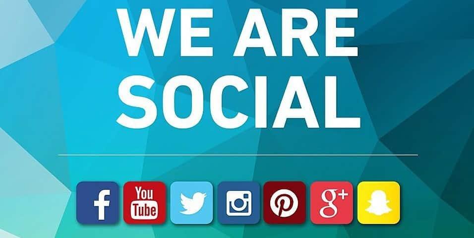 follow us on social media button banner