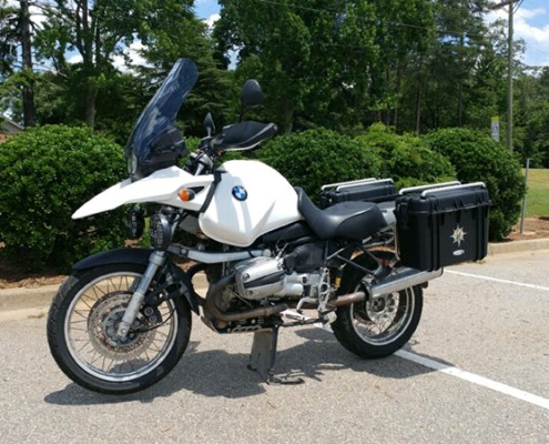 Luggage for BMW GS