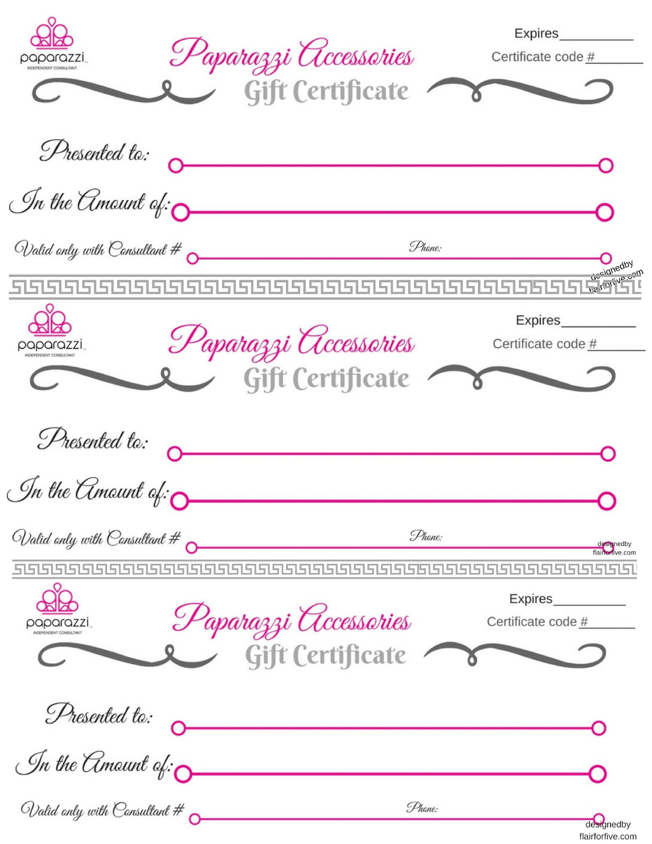 Free Printable T Certificates For Business