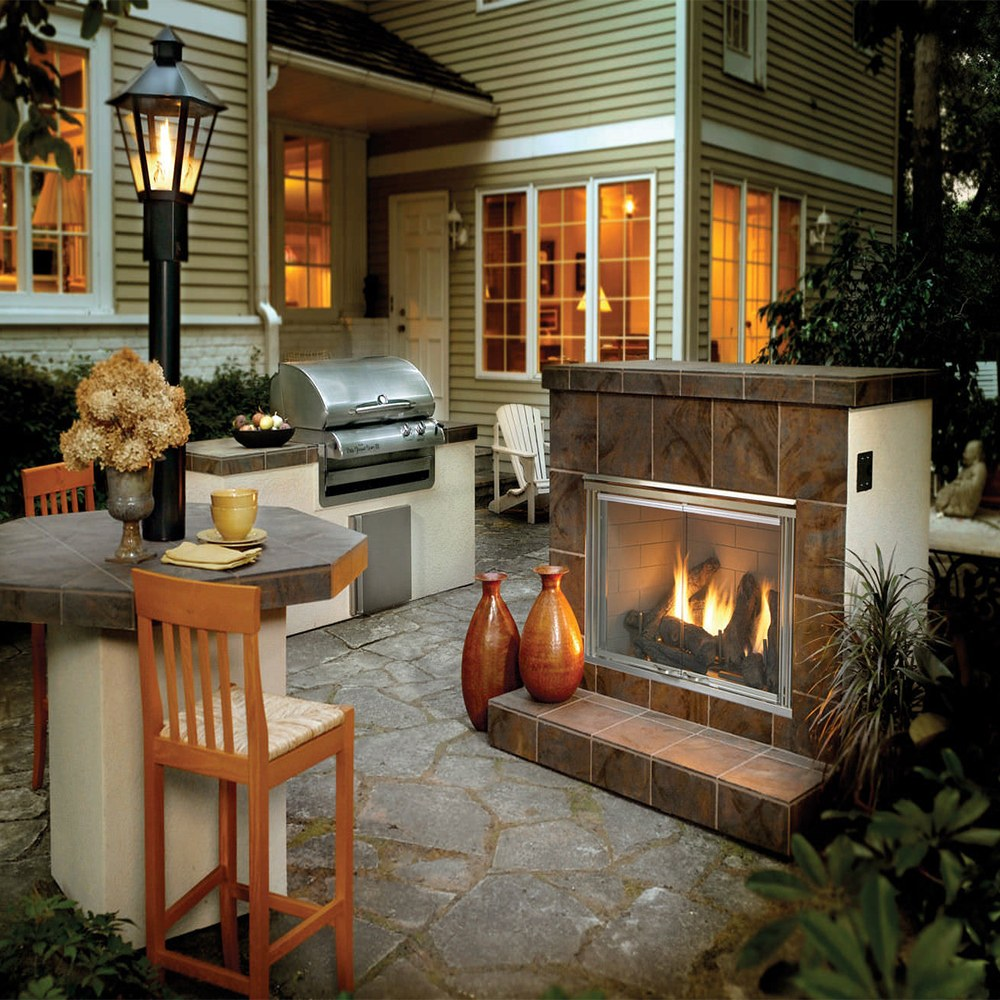 Fine Outdoor Fire Acme Stove Home Interior And Landscaping Palasignezvosmurscom
