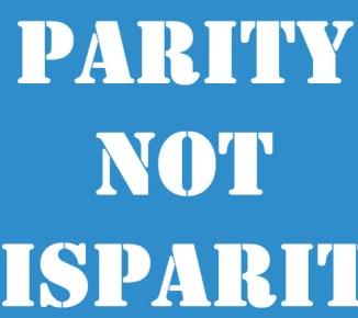 Parity NOT Disparity