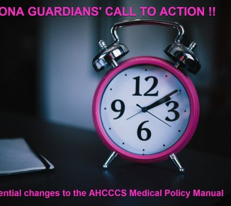 Call to Action for Arizona Guardians