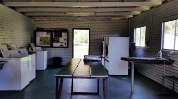 Caravan Park Laundry room