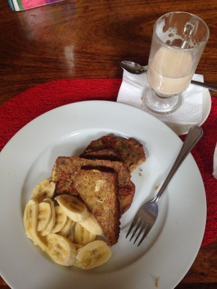 Banana French toast in Zimbabwe